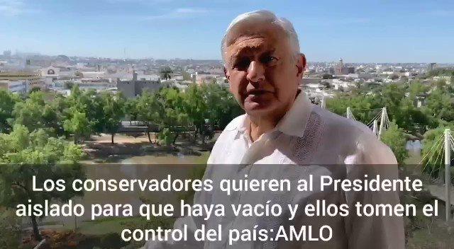 """Image for the Tweet beginning: 🔴 """"Los #conservadores quieren al"""