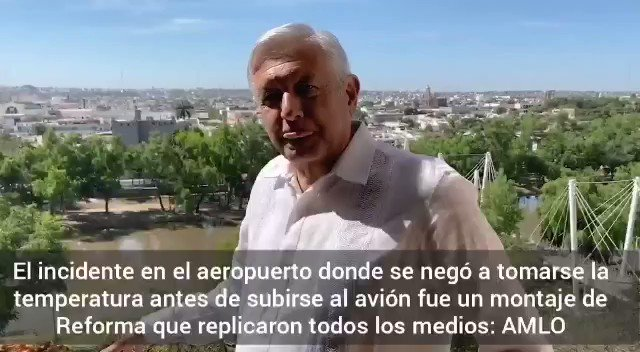 Image for the Tweet beginning: 🔴 El Presidente @lopezobrador_ dice