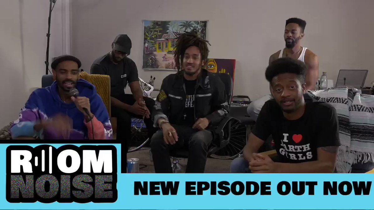 """Season 2 of """"Room Noise"""" is out now! Episode 1 ft. @PatsOnYaBack"""