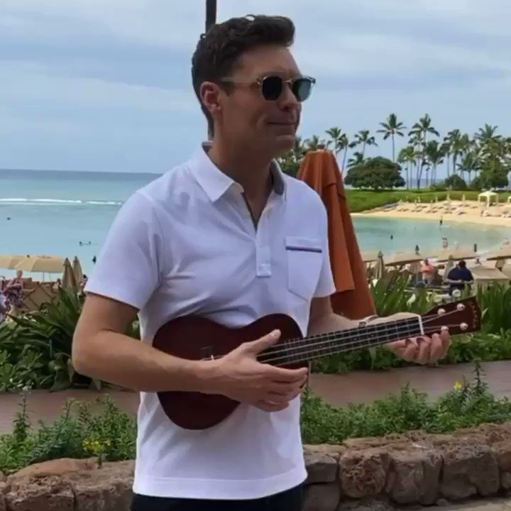 FYI picked up a new hobby while I was in Hawaii #AmericanIdol