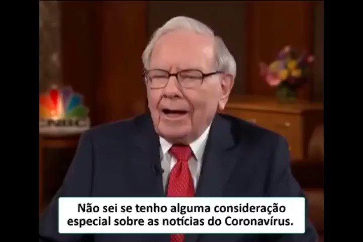 AULA DO WARREN BUFFETT SOBRE  CORONAVIRUS
