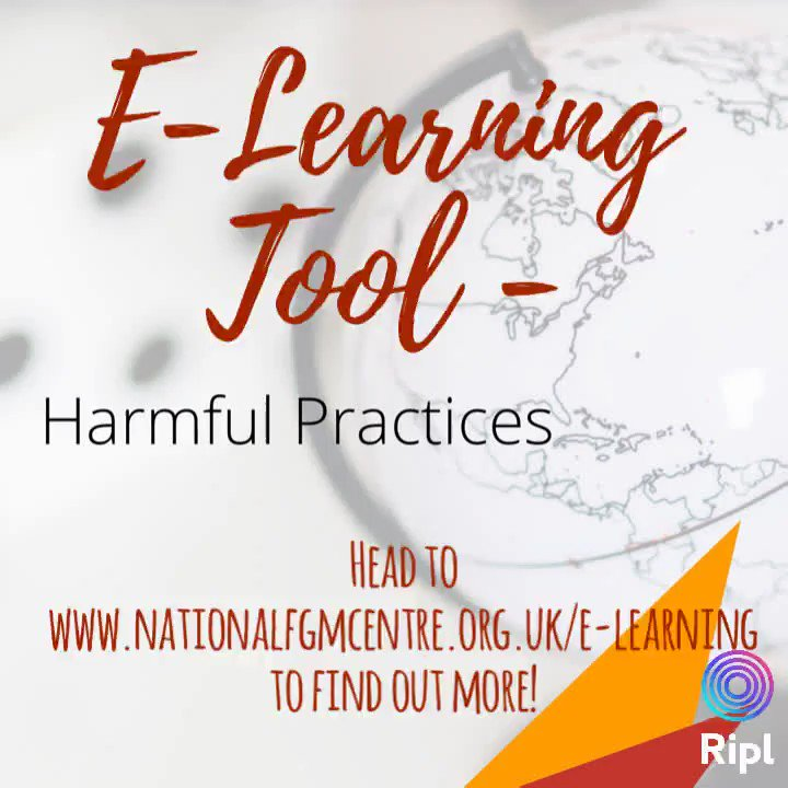 🌞We have developed the first of its kind #harmfulpractices #elearning, but due to the current #Covid_19  #pandemic, it's release is currently on hold. However, we have created a page on our #website to give you a glimpse! Please share far and wide!👉