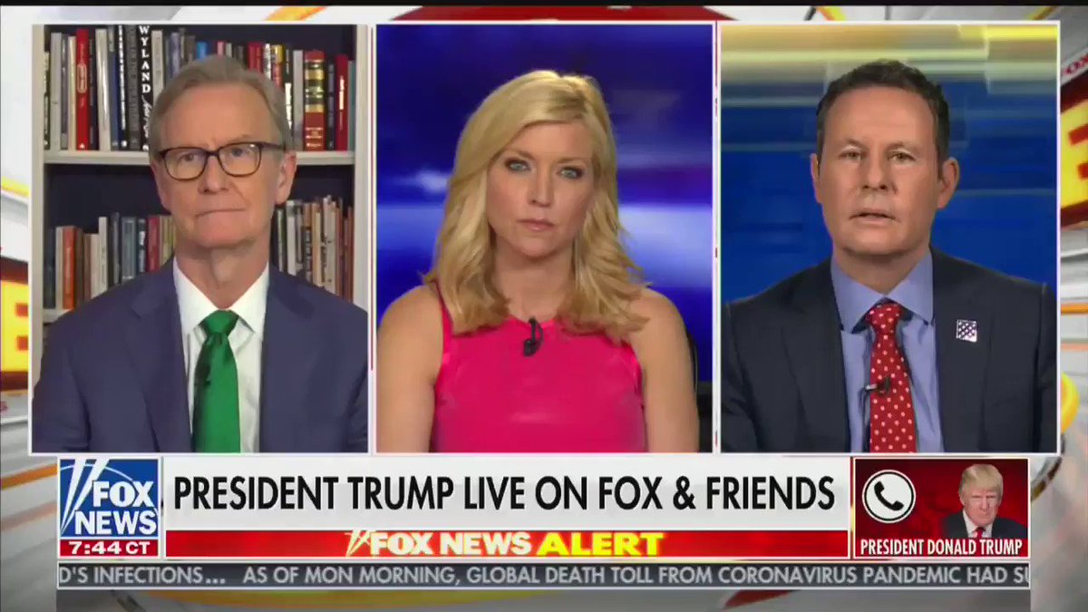 """Trump on Russia: """"They also fought World War 2. They lost 50 million people. They were on partner, in World War 2. Germany was the enemy. And Germany's like this wonderful thing...now we don't talk to Russia, we talk to Germany. I mean, look, it's fine. I want to talk to Germany"""""""