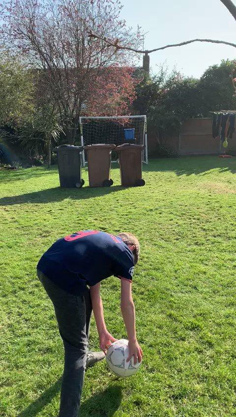 @ManCity @NissanFootball #NISSANGOTM When you have got to use bins as players to practice scoring free kicks https://t.co/fJCMOY0F2m