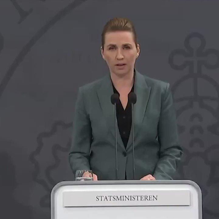 Image for the Tweet beginning: Statsministeren: Vi kan nu begynde