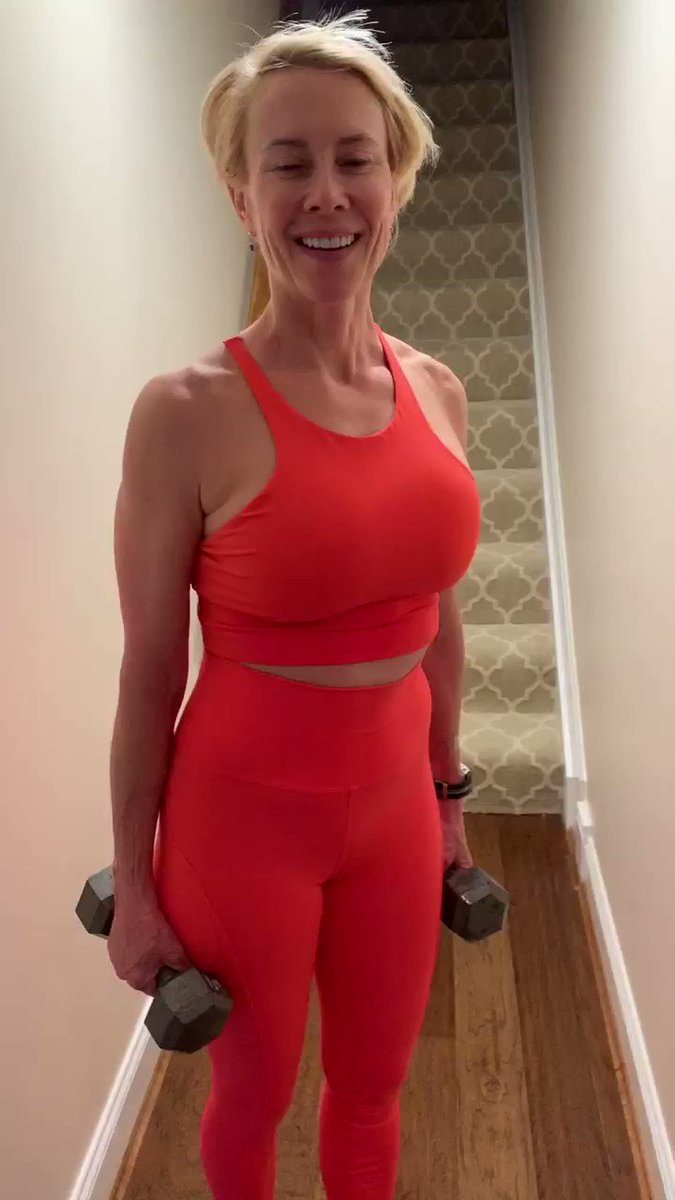 Working out at home can be as basic as climbing stairs! Stay active and stay distanced! #StayAtHome #WorkingOut #HealthyLiving #Workout #TwitterVideo #After50