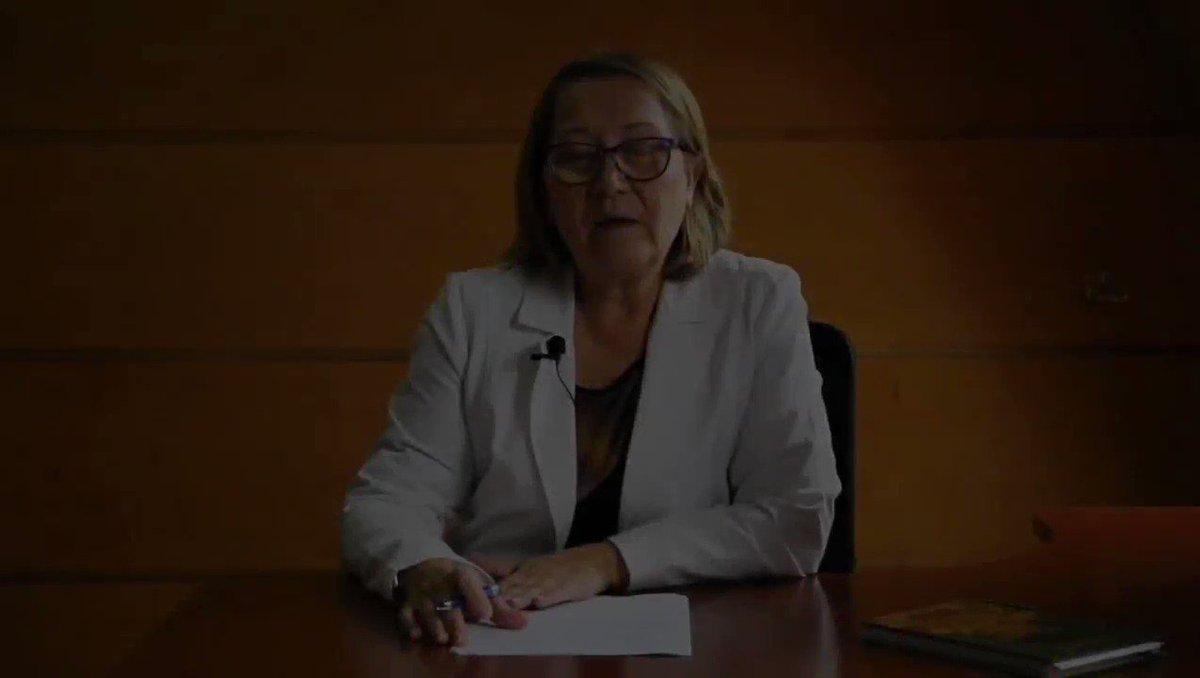 Jacqueline Sánchez Siquiatra y Coordinadora de la Red del Servicio de Salud de #Chiloé. Medidas preventivas #COVID19 #coronavirus #COVIDー19Chile #COVID19 #CuarentenaTOTALChile #CuarentenaCoronavirus #cuarentena #chiloé #castro