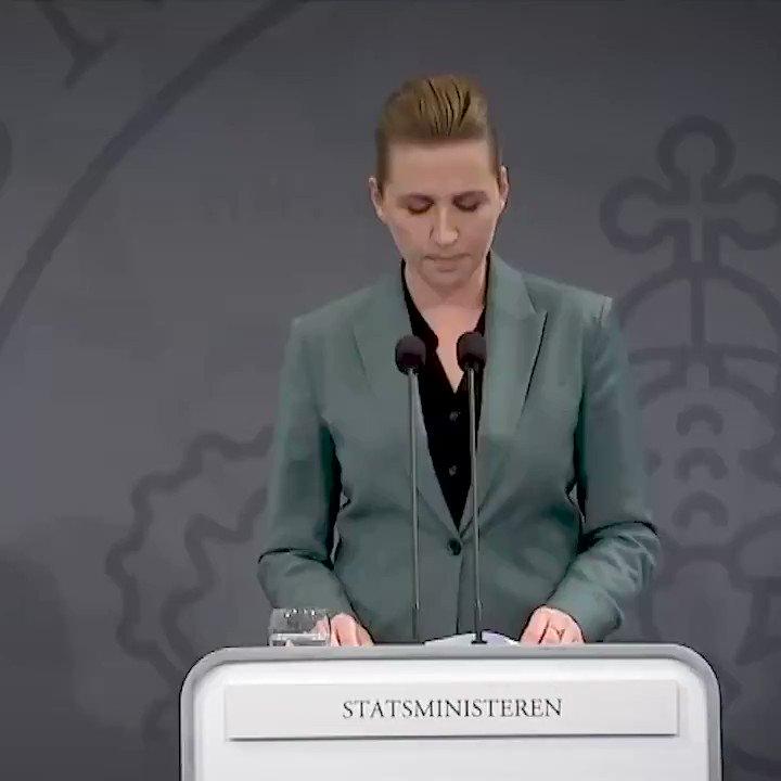"""Image for the Tweet beginning: Statsministeren: """"Lige nu kæmper vi"""