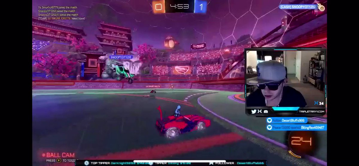 Only 20 hours of total game play on #rocketleague #noob but this #goal gave me hope. #cool #gaming #streaming