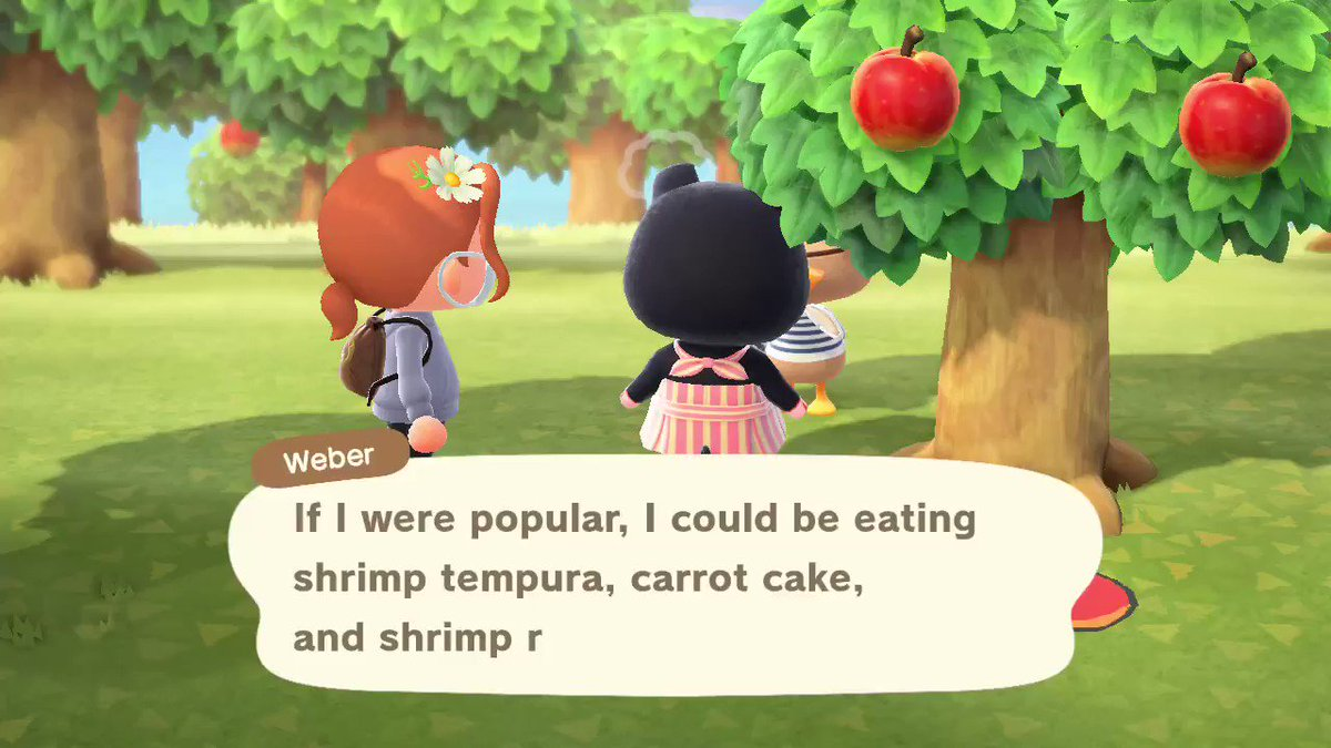 You've thought as hard as you could, Weber - lol #AnimalCrossing #ACNH