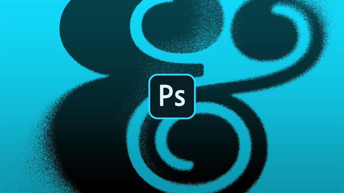 Aprenda a criar uma letra pintada com spray no Photoshop!  Trabalhe com apps originais: 0800 047 4493 | https://adobe.ly/2vN7Gfr