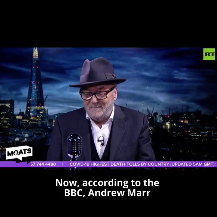 Im brimful of invective, of rebarbative questioning of the people in  charge of our country in this emergency @georgegalloway  on #MOATS  on #Covid_19    FULL SHOW:  https://buff.ly/2UIFypO