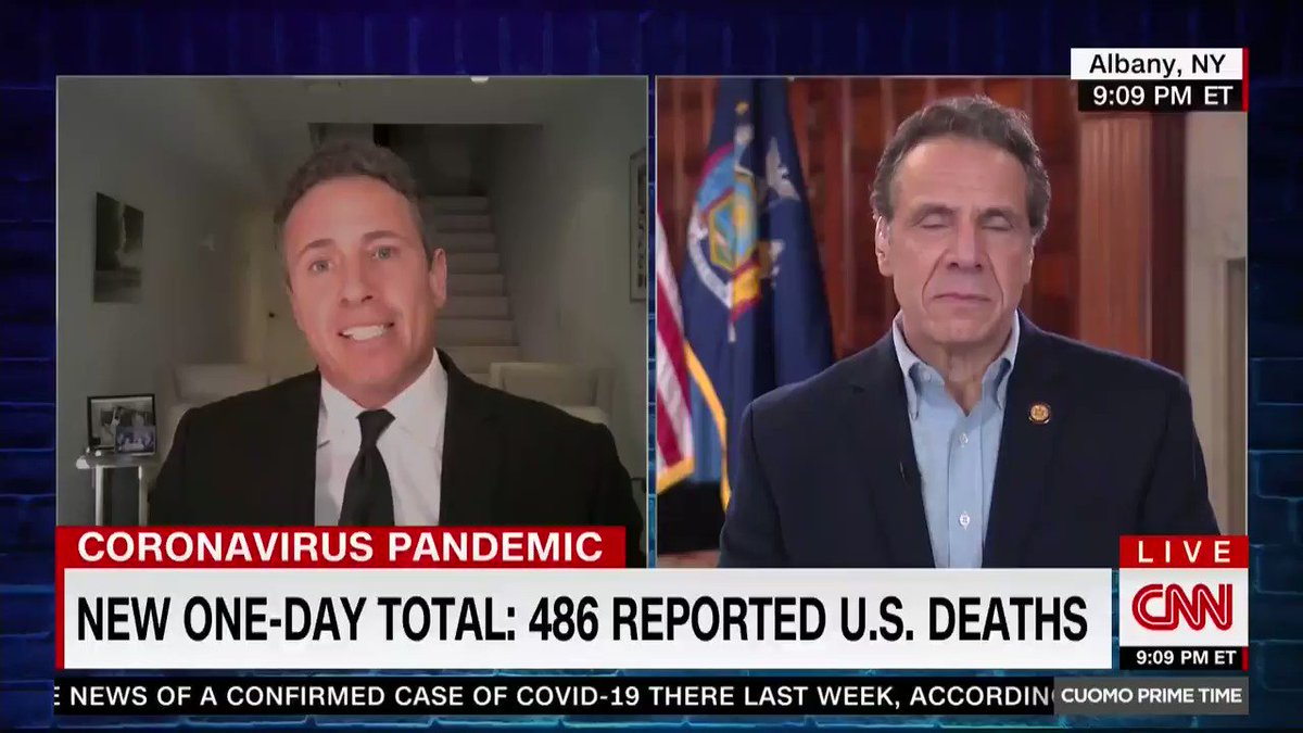 CHRIS CUOMO: Are you thinking about running for president?  ANDREW CUOMO: No.  C: No you won't answer?  A: I answered.  C: Have you thought about it?  A: No.  C: Are you open to thinking about it?  A: No.  C: Might you think about it?  A: No…you're a great interviewer by the way