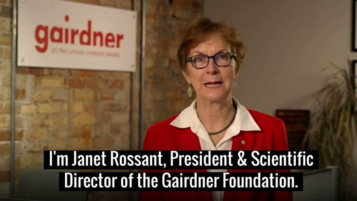 Image for the Tweet beginning: 🎉Exciting science news today!  The @GairdnerAwards