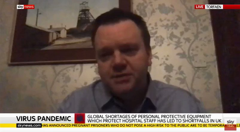 There are still issues with personal protective equipment getting to our frontline workers in the #coronaviruscrisis - it has to get to where it is needed as I said on @SkyNews this evening: