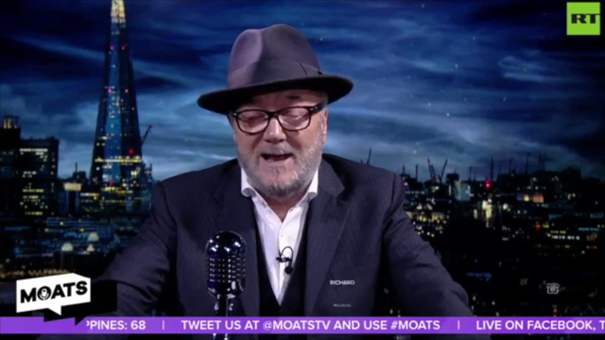 The ExCEL Centre hall of death! #MOATS  Legend Norma calls in to talk about #COVID19   Join @georgegalloway  for the Mother of All Talk Shows, Sundays on @RT_com , @RTUKnews  or @SputnikInt  YouTube or Facebook from 7pm GMT.  FULL show:  https://buff.ly/2QUHYR9