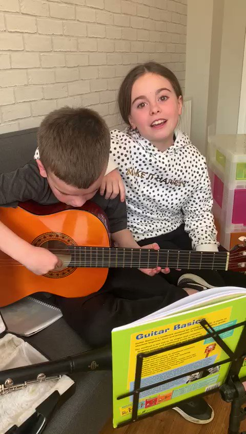 What a fantastic duo 🎸 🎤 @cerddflintshire #music #inspired