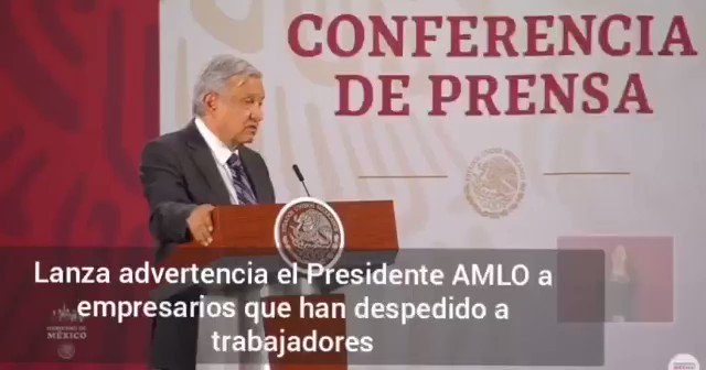 Image for the Tweet beginning: 🔴 El Presidente @lopezobrador_ anunció