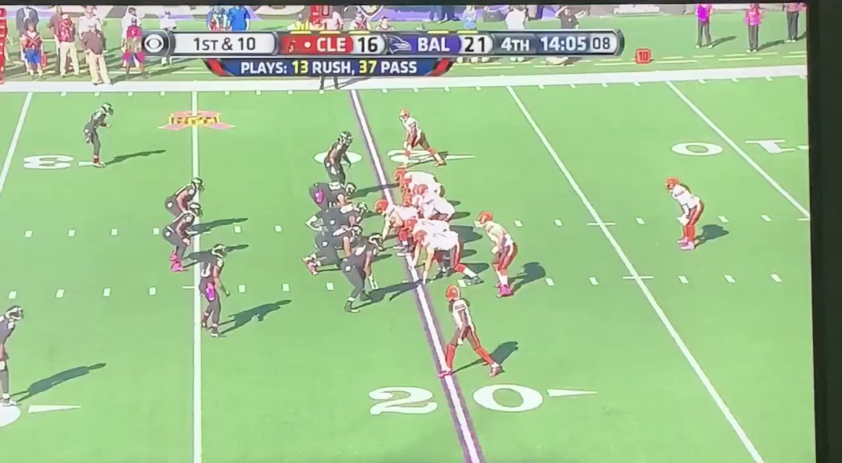 Checking out the Browns vs Ravens in 2015. Josh McCown with a nice deep ball to Taylor Gabriel. I always liked McCown, he played with a lot of heart. Cleveland comes back and wins this one 33-30.