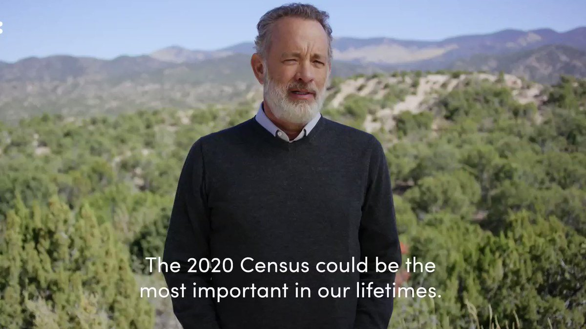 The Census affects us all. Taking a few minutes from the comfort of your home to fill it out can help your community for a decade. Be seen, be heard, and be counted with me and @WhenWeAllVote: http://2020census.gov #CensusDay #EverybodyCountspic.twitter.com/jrscZUjUUT