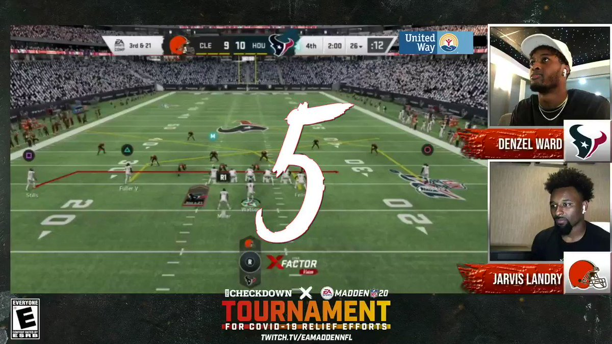ICYMI: Top 5 Plays From Day 1! 👀 @thecheckdown X Madden 20 Tournament!