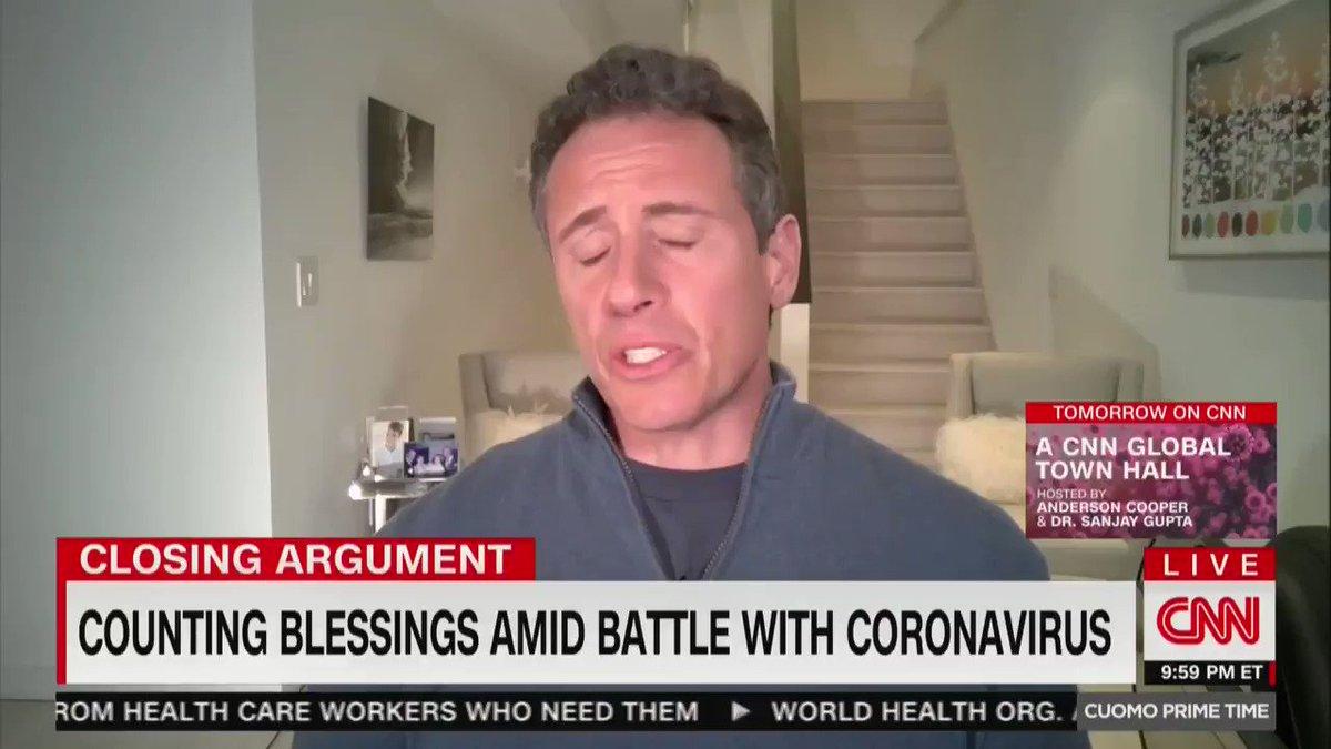 Shivering, hallucinating, beaten 'like a pinata': Chris Cuomo's 'haunted' night with coronavirus