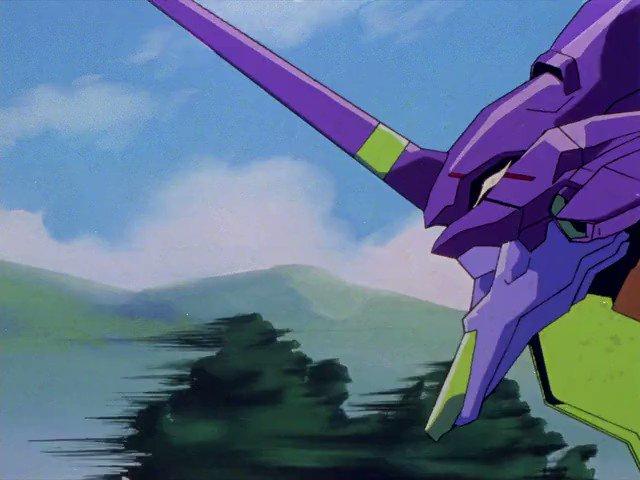 Key Animation: Yoh Yoshinari (吉成 曜)Anime: Neon Genesis Evangelion (新世紀エヴァンゲリオン) (1995)