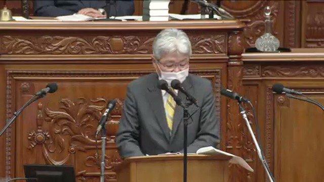 今日も国会で『森友がー!』をやりだす立憲民主党の逢坂誠二#kokkai
