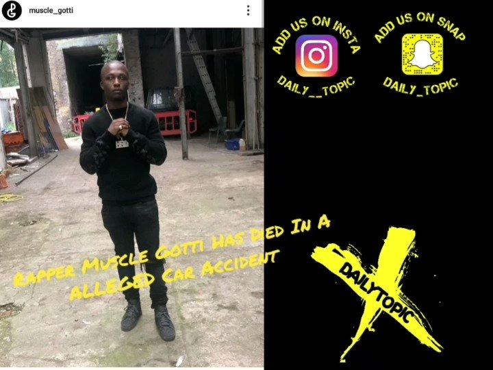 Muscle gotti member of pattern gang died in ALLEGED car accident #london #news #drillmusic #rapper #music #eastlondon #northlondon #southlondon #westlondonpic.twitter.com/4dRXblI3Nj
