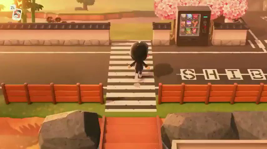 【あつ森】「日本の街にインスピレーションを受けて作ったので自慢させて」#あつ森 #あつまれどうぶつの森 #どうぶつの森 #島クリエイター #マイデザインRadditより