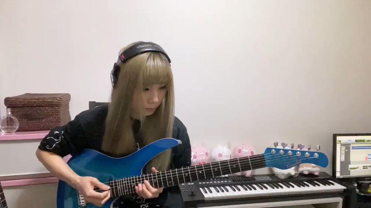 HELLOWEEN /I WANT OUT  guitar solo cover🎃⚡️🎃⚡️🎃⚡️🎃⚡️🎃⚡️こんな時こそヘヴィメタルっ🐥⚡️#ハロウィン #heavymetal #MaMaMaiko #ギター #弾いてみた #音楽好きな人と繋がりたい