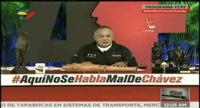 """Cabello advierte aplicar la """"furia bolivariana"""" en contra de los que piden invasión de EE UU"""