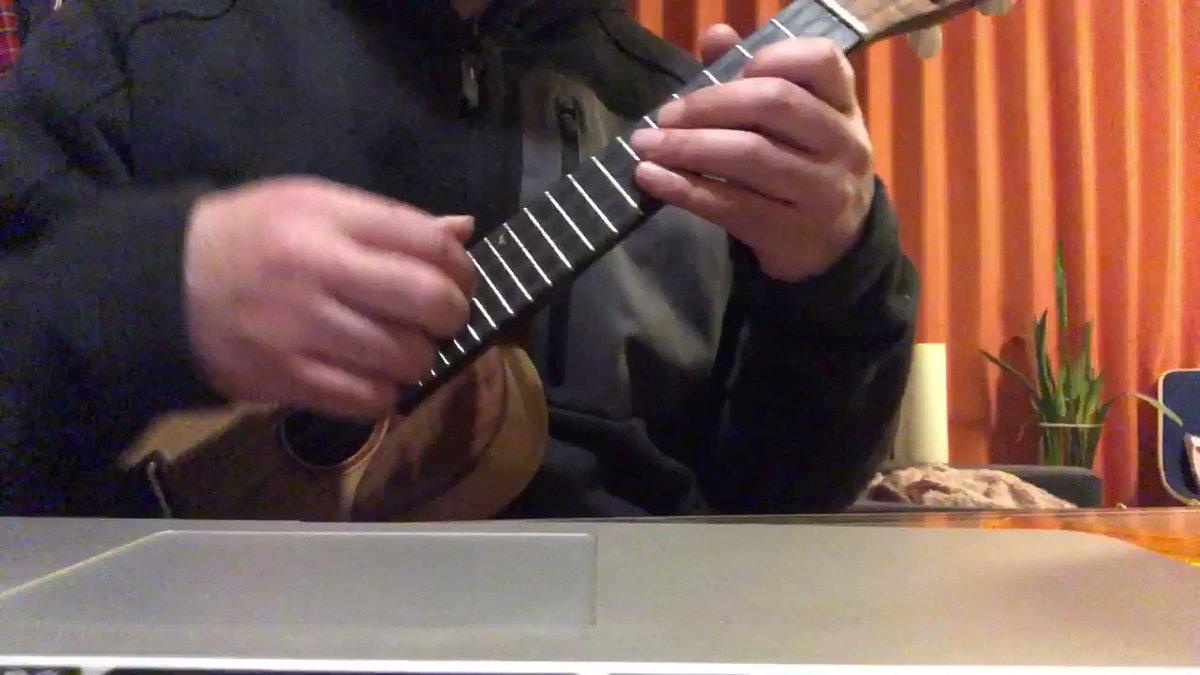 愛弟子うさぎさん用の教材(笑)レッスン第3回目は「メロディとベースラインを一緒に弾いてみよう!」です。メロを弾いて、ベースラインを弾いてそれを合わせる。ギターで弾くようにラインを弾いてみたけど、こういうのはギターで弾く方が圧倒的に楽ですね😅ウクレレだとすぐ弦が足りなくなる😂