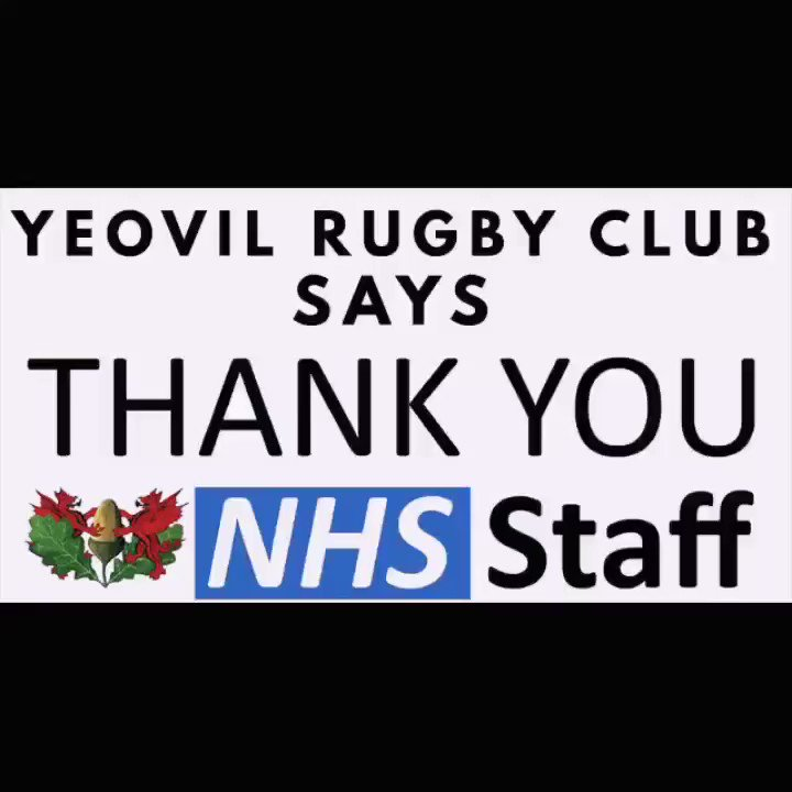 #ClapForCarers #clapforkeyworkers Yeovil ladies as well as all @IvelRFC will showing their support and appreciation.