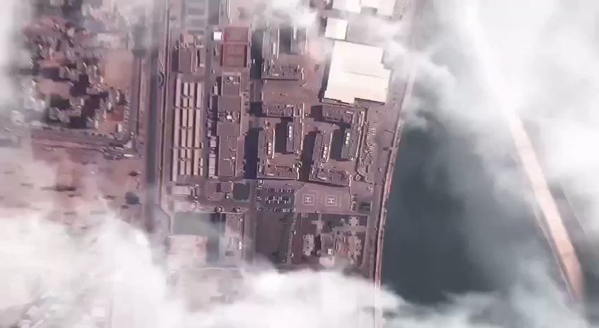 """#BREAKING: #IRGC backed """"League of the Revolutionaries"""" terrorist group which is actually #PMU's #KataibHezbollah has released this propaganda video showing #USEmbassy in #Baghdad today. They threaten to attack the embassy. #US has already evacuated personnel of the embassy. pic.twitter.com/IAjPDNqtMC"""