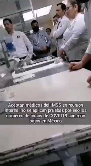 Image for the Tweet beginning: Médicos del #IMSS revelan porque