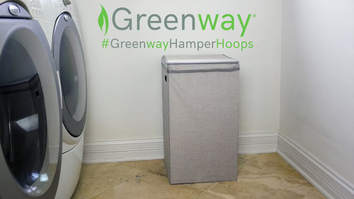 Create your own buzzer beating madness with our Collapsible Single Laundry Hamper! Take a shot at winning one by entering here:  https://t.co/LQ3oO4aXRq #GreenwayHamperHoops https://t.co/l1xobNBzGi