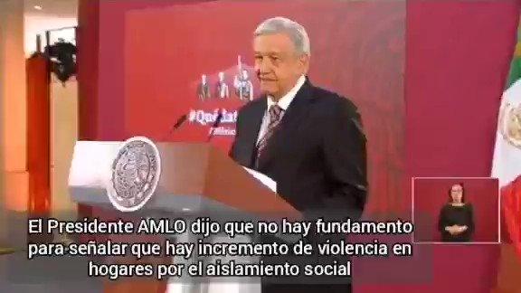 Image for the Tweet beginning: 🔴 Niega el presidente @lopezobrador_