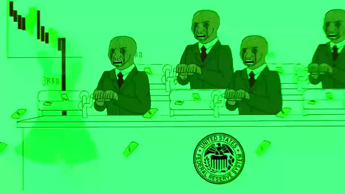 Money printer go BRRR brrr.money