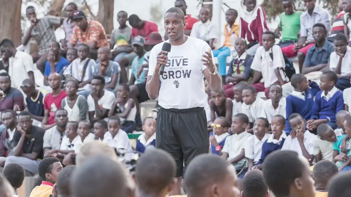 We all miss what we do, and miss what we love. This is a time for us to stay together, pay attention to the rules and regulations. Listen to leaders, listen to experts. –Masai Ujiri #socialdistancing #coronavirus #COVID19 #giantsofafrica #StayHomeSavesLives