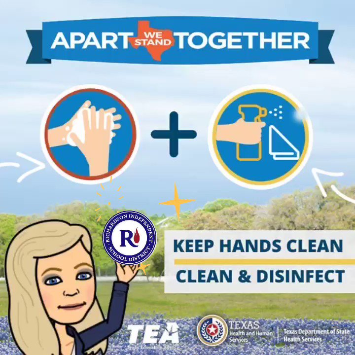 #RISDSaySomething - Let's ALL do our part! #staywelltexas #apartwestandtogether