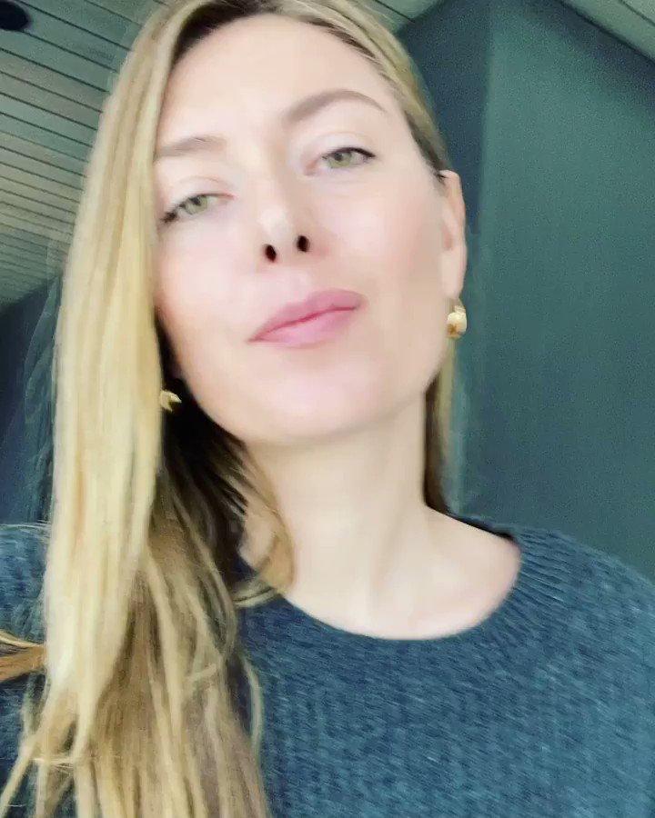 Maria Sharapova @MariaSharapova