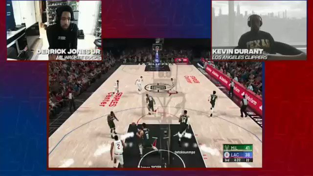 Durant complain enough we'll grt an actual good version of 2k next year