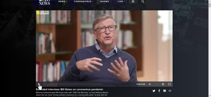 "COVID19 UPDATES - BILL GATES CROSSES THE DIGITAL RUBICON, SAYS ""MASS GATHERINGS"" MAY NOT RETURN WITHOUT GLOBAL VACCINE plus MORE 4PyIEyQqT-6yKNs9?format=jpg&name=small"