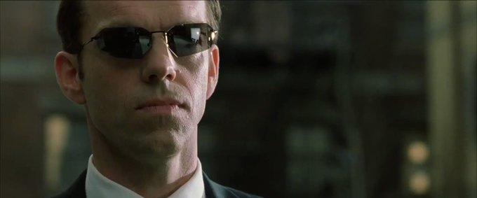 Happy 60th birthday Hugo Weaving ~ The Matrix Reloaded (2003)
