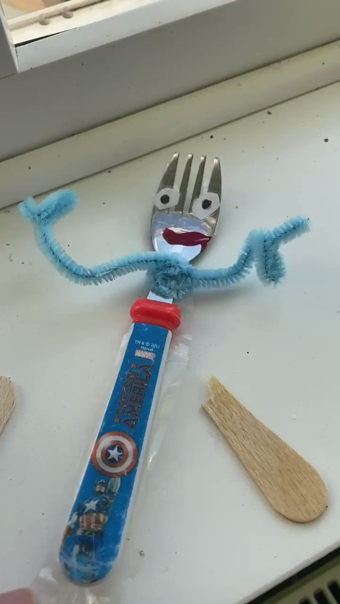 So I don't know what furlough means or how to get the feet on forky...
