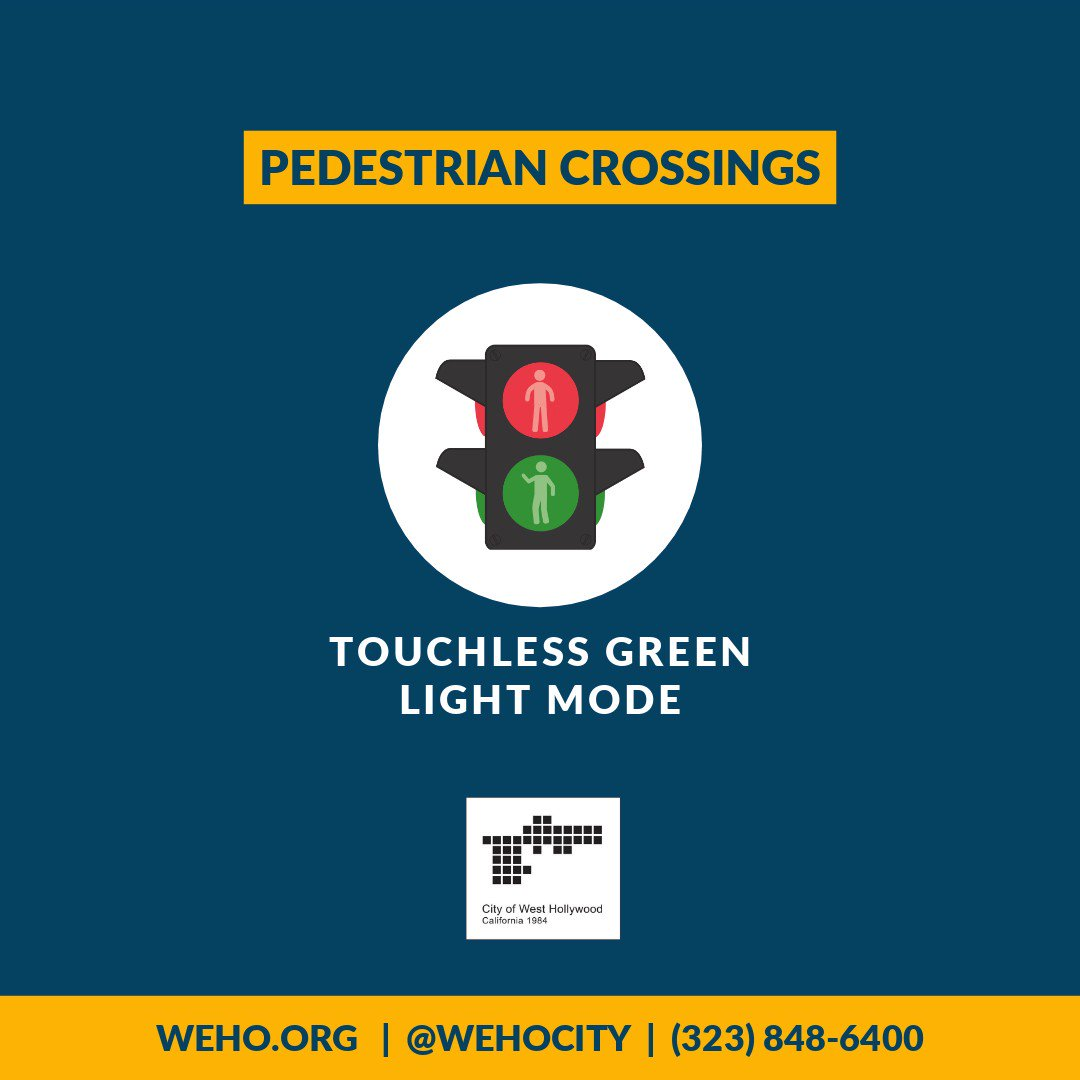 Image for the Tweet beginning: The City recently activated touchless
