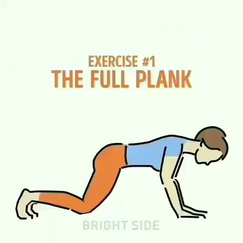 How to do a proper plank with good posture:-) #Fitness pic.twitter.com/9m2CxithCy