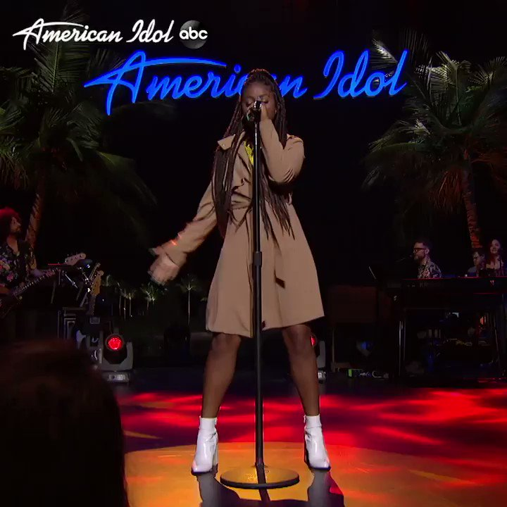 YASSSTH @OliviaXimines not just the voice, not just the moves, but THE REVEAL AND I AM HERE FOR IT #AmericanIdol @LoveTinaTurnerpic.twitter.com/wQAyWtMmGT