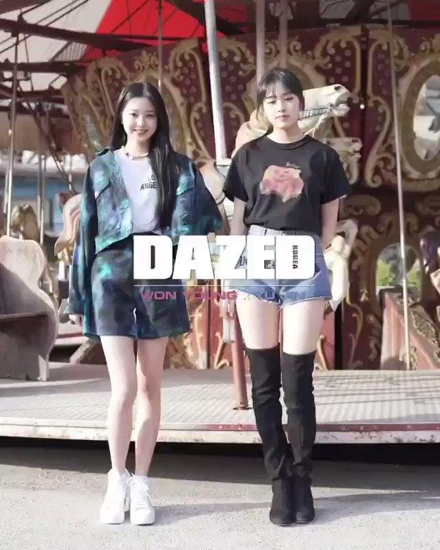 "IZ*ONE GLOBAL on Twitter: ""🎥 [VIDEO] 200406 Wonyoung and Yujin on ..."